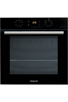 Hotpoint Class 2 SA2540HBL Black Built-In Electric Single Oven