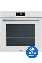 Hotpoint Class 2 SA2540HWH White Built-In Electric Single Oven
