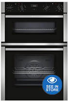 NEFF N50 U1ACE2HN0B Stainless Steel Built-In Electric Double Oven