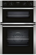 NEFF N50 U1ACE5HN0B Stainless Steel Built-In Electric Double Oven