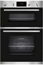 NEFF N30 U1GCC0AN0B Stainless Steel Built-In Electric Double Oven