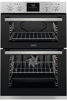Zanussi ZOD35660XK Black Built-In Electric Double Oven