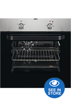Zanussi ZZB30401XK Stainless Steel Electric Oven