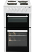Beko BD533AW Freestanding Electric Cooker