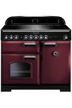 Rangemaster CDL100EICY/C Cranberry Classic Deluxe with Induction Hob