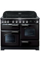 Rangemaster CDL110EIBL/C Black Classic Deluxe with Induction Hob