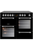 Leisure Cookmaster CK100C210K 100cm Black Electric Range Cooker with Ceramic Hob