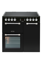 Leisure Cookmaster CK90C230K 90cm Black Electric Range Cooker with Ceramic Hob