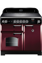 Rangemaster CLA100EICY/C Cranberry Classic with Induction Hob