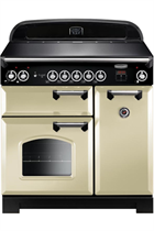 Rangemaster CLA90EICR/C Classic 90cm with Induction Hob