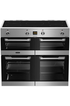 Leisure Cuisinemaster CS100D510X 100cm Stainless Steel Electric Range Cooker with Induction Hob