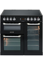 Leisure Cuisinemaster CS90C530K 90cm Black Electric Range Cooker with Ceramic Hob