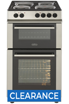 Belling FS50EFDOSTA 50cm Double Oven Electric Cooker