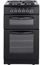 Belling FSE50TCB 50CM Black Twin Cavity Cooker