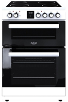 Belling FSE608DPC 60cm White Double Oven Electric Cooker