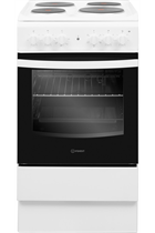 Indesit Cloe IS5E4KHW 50cm White Single Cavity Electric Cooker