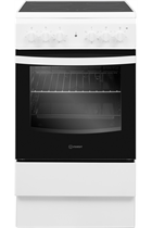 Indesit Cloe IS5V4KHW 50cm White Single Cavity Electric Cooker
