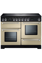 Rangemaster Kitchener KCH110ECCR/C 110cm Cream Electric Range Cooker with Creamic Hob