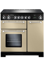 Rangemaster Kitchener KCH90ECCR/C 90cm Cream Electric Range Cooker with Ceramic Hob