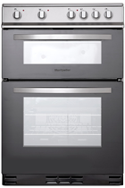 Montpellier MTC60FS 60CM Silver Twin Cavity Cooker