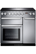 Rangemaster Nexus NEX90EISS/C 90cm Stainless Steel Electric Range Cooker with Induction Hob