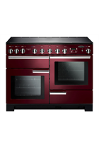 Rangemaster PDL110EICY/C Cranberry Professional Deluxe with Induction Hob