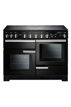 Rangemaster PDL110EIGB/C Black Professional Deluxe with Induction Hob