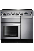 Rangemaster Professional Plus PROP90ECSS/C 90cm Stainless Steel Electric Range Cooker with Ceramic Hob