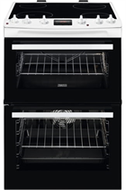 Zanussi ZCV66078WA 60cm White Double Electric Cooker