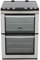 Zanussi ZCV668MX 60CM Double Oven Ceramic Cooker