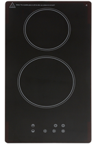 Montpellier CER31NT 30cm Black Ceramic Domino Hob