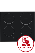 Candy CI640CBA 59cm Black Built-In Induction Hob