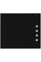 Beko CIHV21B 60cm Black Built-In Ceramic Hob