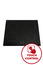 Montpellier INT61T99-13A 60cm Black Plug & Play Induction Hob