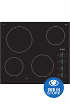 Bosch PKE611CA1E Series 2 Black Ceramic Hob