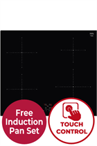 NEFF N50 T36FB40X0 59cm Black Built-In Induction Hob