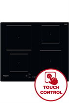 Hotpoint TQ1460SNE 59cm Black Built-In Induction Hob