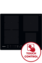 Hotpoint TS5760FNE 59cm Black Built-In Induction Hob