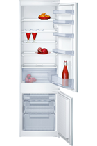 NEFF N30 K8524X8GB Integrated 54cm White 70/30 Fridge Freezer