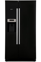 NEFF N50 KA3902B20G 533L Black American Fridge Freezer