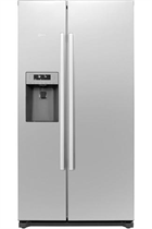 NEFF N50 KA3902I20G 533L Stainless Steel American Fridge Freezer