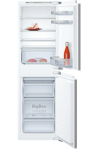 NEFF N50 KI5852F30G Integrated 54cm White 50/50 Fridge Freezer