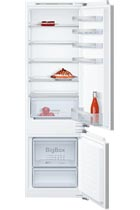 NEFF N50 KI5872F30G Integrated 54cm White 70/30 Fridge Freezer