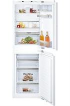 NEFF N70 KI7853DE0G Integrated 56cm White 50/50 Frost Free Fridge Freezer