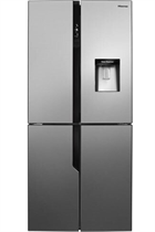 Hisense RQ560N4WC1 431L Stainless Steel American Style Fridge Freezer