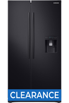 Samsung RS52N3213BC Black American Fridge Freezer