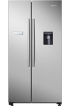 Hisense RS741N4WC11 562L Stainless Steel American Style Fridge Freezer