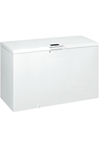 Hotpoint CS1A400HFMFAUK.1 141cm White 390L Chest Freezer