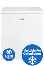 Haden HC142L 73cm White 142L Chest Freezer