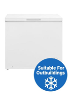 Fridgemaster MCF198 80cm White 198L Chest Freezer